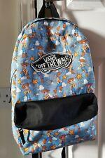 """Disney Pixar Vans """"Off The Wall"""" Toy Story Woody Backpack Rucksack Bag Very Rare"""