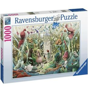 Ravensburger SECRET GARDEN Jigsaw Demelsa Haughton 1000 pc Puzzle FREE UK P&P