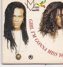 Milli Vanilli-Girl Im Gonna Miss You 3 inch cd single