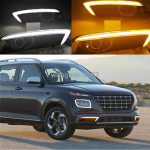 2020-21 For Hyundai Venue DRL Daytime Running Light Fog Light Turn Signal Light