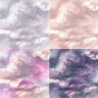 Arthouse Diamond Galaxy Cloud Effect Wallpaper 5 Colours