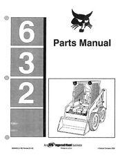 BOBCAT 632 PARTS MANUAL REPRINTED COMB BOUND