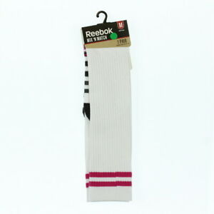 Reebok Womens Mix 'n Match High Quarter Striped Socks 1-Pair Medium (W5-10)