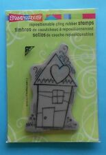 ART HOUSE  Stampendous  CLING MOUNTED RUBBER STAMP