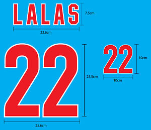 LALAS #22 USA Away World Cup 1994 NAME NUMBER PU PRINT EXCELLENT QUALITY FREE SH