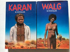 Walg & Karan by B. Wongar Hardback Dust Jacket Australian Aboriginal Fiction