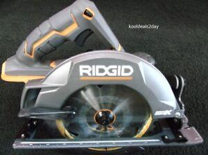 "RIDGID R8652 7 1/4"" CORDLESS 18V CIRCULAR SAW (TOOL ONLY)"