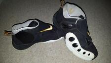 NIKE AIR ZOOM GP 10 GARY PAYTON THE GLOVE BLACK WHITE Sz 8.5 FLIGHT PENNY LEBRON