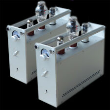 Finished 300B Tube Amplifier Left and Right Channel Split Pure Class A Tube Amp