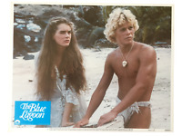 """The Blue Lagoon"" Original 11x14 Authentic Lobby Card Photo Poster 1980 Shields"