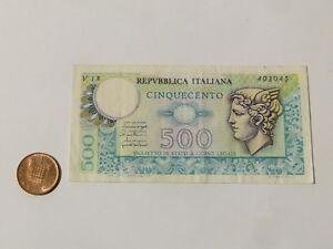 ITALY Repubblica Italiana 500C Ciquecento Bank Note V18 / 403045