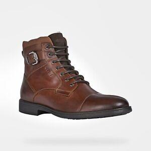 Geox U Jaylon D Herren gefütterte Stiefelette Business Schuhe