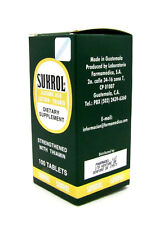 Sukrol Glutamic Acid Dietary Supplement Strenghtened with Thiamin 100 Tablets