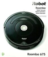 iRobot Roomba 675 Wi-Fi Connected Self Charging Robot Vacuum Cleaner R675020