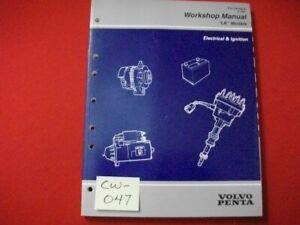 """1997 FACTORY GM VOLVO PENTA """"LK"""" MODELS WORKSHOP MANUAL ELECTRICAL & IGNITION"""