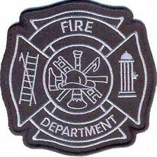 FIRE DEPARTMENT EMT FIREMAN FIGHTER Quality Funny Biker Vest Fun Patch! PAT-3069