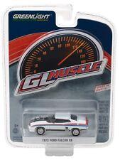1:64 GreenLight *GL MUSCLE R19* White 1973 Ford Falcon XB V8 Interceptor *NIP*