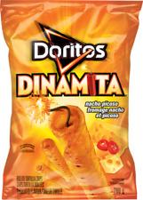 2 Bags Doritos Dinamita Nacho Picoso LARGE 280g FRITO LAY Canada FRESH DELICIOUS