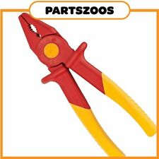Knipex Insulated Plastic Flat Nose Pliers 1000V 180mm 986201