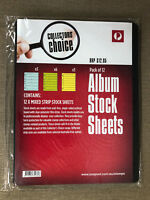 New Australia Post Collectors Choice 12 Pack 7 Hole Mixed Stock Album Sheets