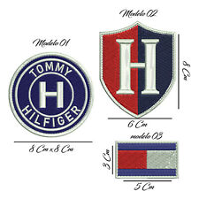 parche HILFIGER bordado EMBROIDERED PATCH logo TOMMY HILFIGER customize