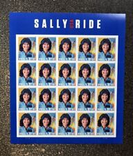 2018USA Forever - Sally Ride - Sheet of 20  Mint  astronaut