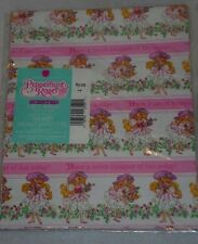 Vtg Lot Scented Gift Wrapping Paper Peppermint Rose NEW American Greetings 1992