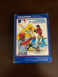 Major League Baseball from Mattel Electronics French Canadian CIB