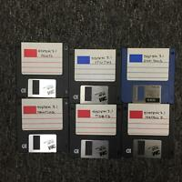 "System 7.1 Fonts Utilities Tidbits Printing Disk Tools 3.5 3 1/2"" Floppy Disk"