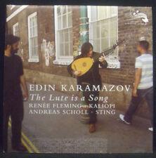 CD + DVD EDIN KARAMAZOV - the luth est est a song, Promotion-dossier