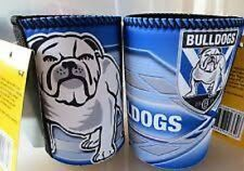 NRL Canterbury Bankstown BULLDOGS Stubby Can Bottle Drink Cooler Holder