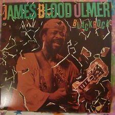 "12"" VERY RARE LP BLACK ROCK BY JAMES BLOOD ULMER (1982) COLUMBIA ARC 38285 PROMO"