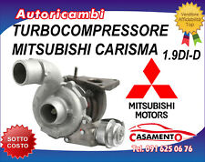 TURBOCOMPRESSORE MITSUBISHI CARISMA 1.9DI-D 85KW DAL 1/2001 AL 6/2006