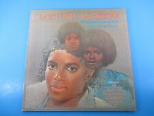 Michael Jackson 14 Original Greatest Hits w/ Jackson 5 Album LP Vinyl 1983 K-Tel