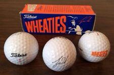 WHEATIES Tiger Woods Golf Balls by Titleist Sleeve of 3