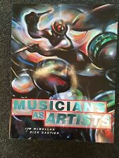 2 Books Actors Musicians As Artists by Jim McMullan Autographed by Dick Gautier