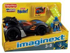 Fisher-Price Imaginext DC Super Friends Batmobile 2009 MIB Extra Batman & Bane