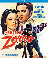 Mark Of Zorro (1940) (2016, Blu-ray NUEVO) (REGION A)