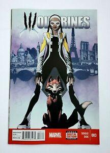 WOLVERINES #3 ~ Marvel 2015 ~ 1st App Fantomelle & Culpepper Fox!  ~ NM-