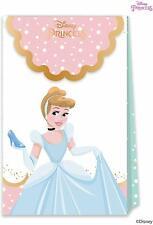 6 x Disney Princess Paper Party Bags Girls Birthday Supplies Treat Gift Loot