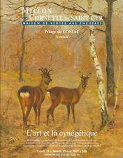 Catalogue de vente MILLON L'ART ET LA CYNEGETIQUE BIBLIOTHEQUE AUDOIN TROPHEE