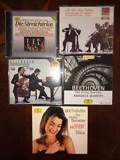 Beethoven 19 CD chamber music LOT: Mutter, Stern, Ax, Ma, Amadeus Quartet