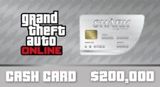 Grand Theft Auto V Online GTA PS4 Great White Shark Cash Card Code $200,000 US