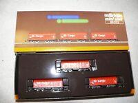 N5 Märklin 86352 Wagenset Schiebeplanwagen DB Cargo Spur Z
