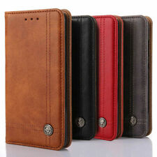 For Apple iPhone 11 Pro Max XR XS 6 6S 7 8 Leather Flip Wallet iPhone Case Cover