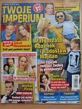 TWOJE IMPERIUM 29/2014 M.ROZENEK,R.MAJDAN,A.Jolie,Pierce Brosnan,Jessica Simpson