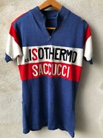 Jersey Maillot Maglia Cucling Leda G.S. ISOTHERMO SACCUCCI 70/80s