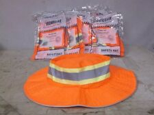 Lot of 10 Safety Orange with Silver Reflective Tape Ironwear Booney Hats - $47