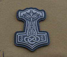 "PVC / Rubber Patch ""Odin Hammer"" with VELCRO® brand hook"