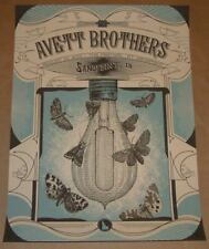 Avett Brothers Status Serigraph Sandpoint Idaho Poster Print Signed Numbered Art